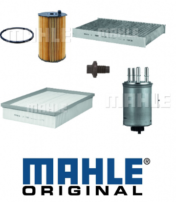 KIT100 Mahle Original Filter Kit Land Rover Discovery 3 Tdv6 To VIN 6A999999